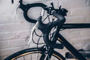 ロードバイクのハンドル