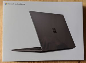 Surface laptop 箱